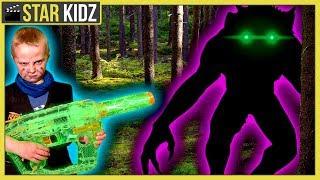 Backyard Creature Lair Revealed? Mystery Beast Vs Ethan - Sneak Attack Nerf Battle