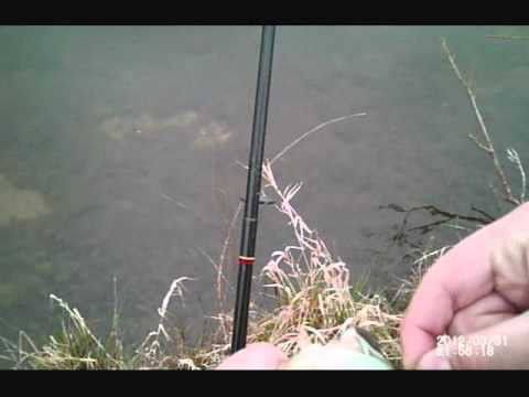 Bass Fishing At A Golf Coarse Pond In First Person