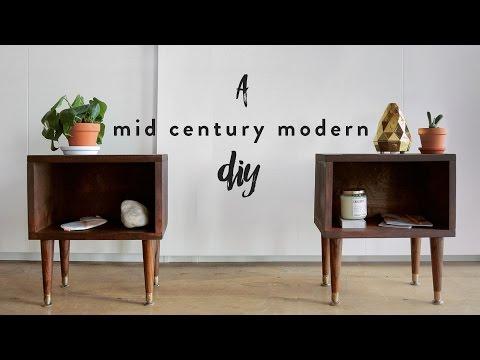 DIY Nachttisch - Vintage-Möbelstück schnell und einfach gebaut