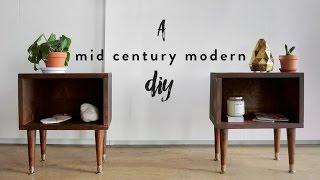 Modern nightstands  Etsy
