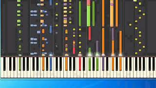 Ace of Base - Blooming 18 (pr) [Piano Tutorial Synthesia]
