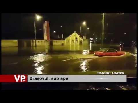 Brașovul, sub ape