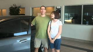The Schwartz Family 2011 Honda Fit  Sales Testimonial.