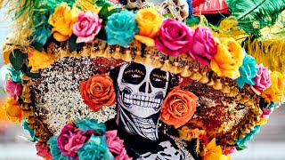 This Is Day Of The Dead Parade In Mexico City (Dia De Los Muertos)