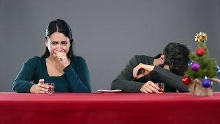 Смотреть онлайн Итальянцы пробуют закусывать алкоголь по-русски