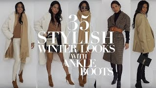 35 Winter Outfits Outfits To Remember If You Only Wear Ankle Boots  // MARIA TERESA LOPEZ