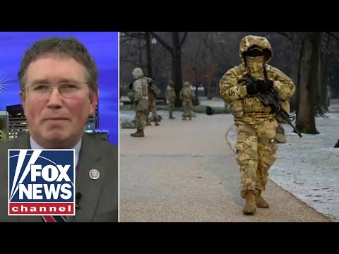 Rep. Massie: Troops in our Capitol might be the next 'forever war'