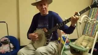 Frank Hamilton Teaching Basic Pete Seeger Banjo
