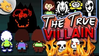 Who Is The Real Villain Of UNDERTALE? Undertale Theory   UNDERLAB