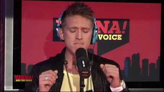 Danny Saucedo - In love with a lover (live in Voice Radio)