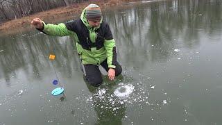 На жерлицы по первому льду