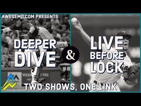MLB DFS PICKS & LIVE BEFORE LOCK - FRI 9/20 - DEEPER DIVE - DRAFTKINGS FANDUEL YAHOO FANTASYDRAFT