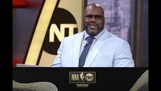 Shaq Is A Big Fan of Zion and Bol Bol | NBA on TNT Tuesday