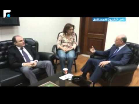 النائب فتوش يحاول ضرب موظفة في العدلية