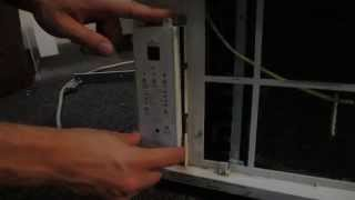 How to open up an older Frigidaire window AC unit for repair