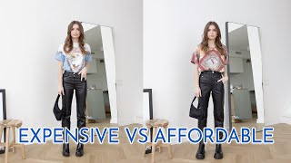 LOOK EXPENSIVE FOR LESS | same outfits, different price