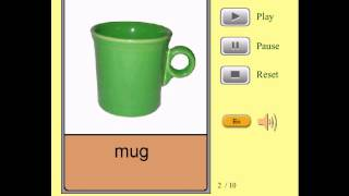 Audio Flashcards for Kids - Stationery