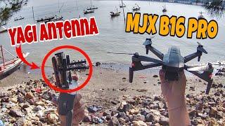 MJX Bugs 16 Pro Range Test with Yagi Antenna