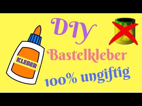 DIY Bastelkleber selber machen (100% ungiftig)