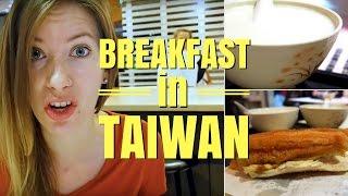 Taiwanese Breakfast in Taipei, Taiwan