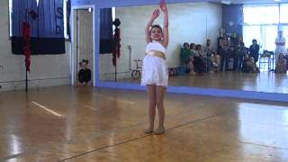 "Lanee, 7, Dancing to ""Skin"" by Rascal Flatts"