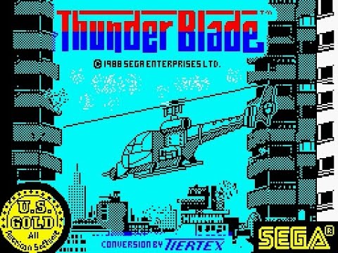 ZX Spectrum Longplay [071] Thunderblade