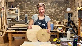 Заготовки для настенных часов из дерева