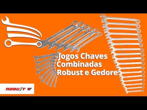 Jogo De Chave Combinada de 6 a 22 mm com 17 Peças - Video