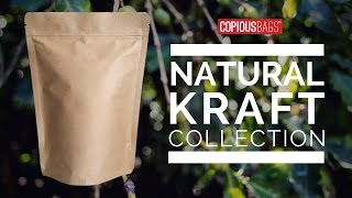 Natural Kraft Stand Up Pouches | Copious Bags®