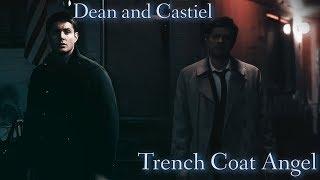 Dean & Castiel - Trench Coat Angel (Song/Video Request)