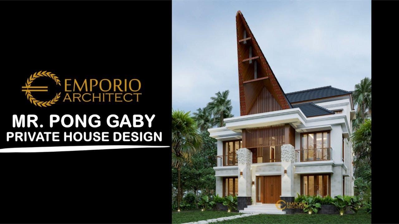 Video 3D Mr. Pong Gaby Uniq House 3 Floors Design - Toraja Utara, Sulawesi Selatan