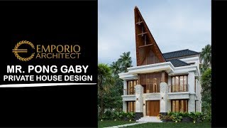 Video Mr. Pong Gaby Uniq House 3 Floors Design - Toraja Utara, Sulawesi Selatan