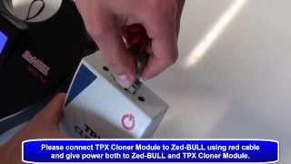 Cloning 4D transponder using Zed-BULL & TPX Cloner Module