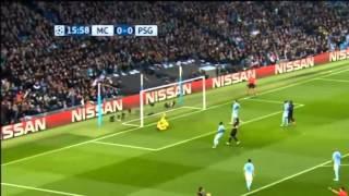 Манчестер сити - ПСЖ 1/4 лиги чемпионов обзор матча 12.04.2016.