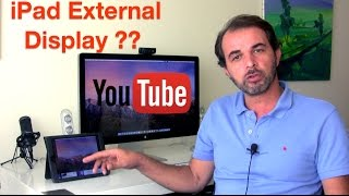 Use your iPad or Tablet as an External Display for free