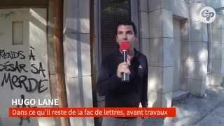 preview picture of video 'CityPost en visite à la fac de lettre d'Aix-en-Provence'