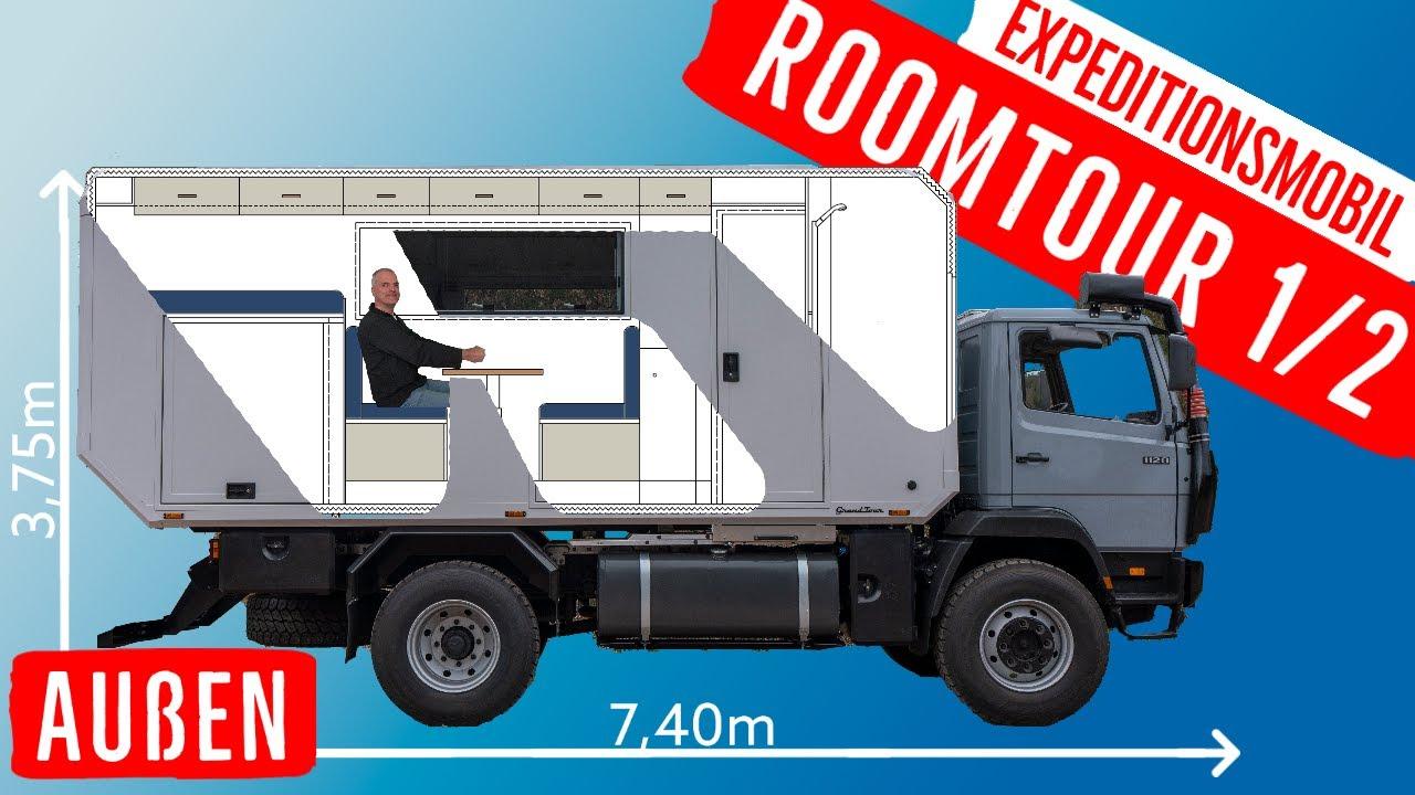 Expeditionsmobil Roomtour Expeditions-LKW 4x4 Camper Exmo Allrad Lkw Fernreisemobil Weltreisemobil
