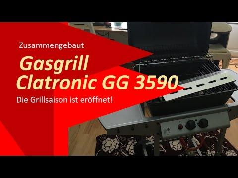Gasgrill Clatronic GG 3590 aufbauen - die Grillsaison ist eröffnet!