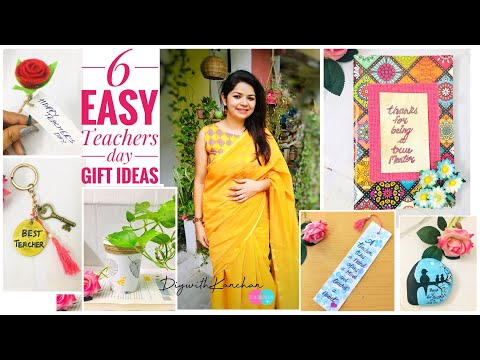 Easy teachers day gift ideas