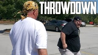 THE PARKING LOT THROWDOWN!!