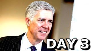 DAY 2: Judge Neil Gorsuch Confirmation Hearing For Supreme Court Justice Nominee 3/22/17