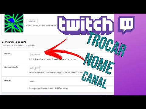 COMO TROCAR O NOME DE PERFIL NA TWICH PC!!!
