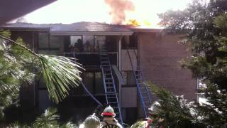 Alexandria FD Edsall Road Fire 1 of 3