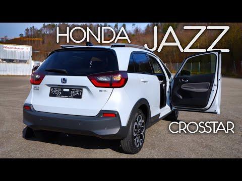 New Honda Jazz Crosstar Hybrid 2021 Review Interior Exterior