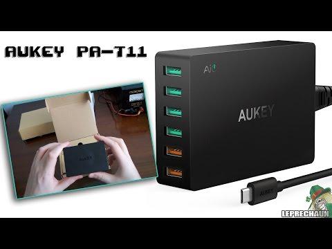 [RECENSIONE] Caricatore USB Aukey PA-T11-IT-N 5V 2.4/3A
