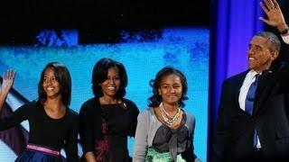 Obama speaks on love of wife, kids