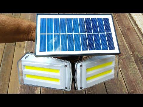 Уличный светильник Bsod с солнечной батареей / Street light Bsod with solar battery