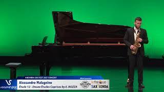 Alessandro Malagnino plays Étude 12 – Douze Études Caprices by Eugène BOZZA
