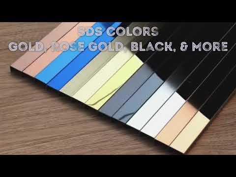 SDS Decorative U Profiles