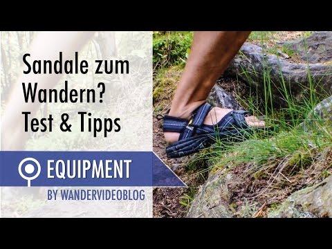 Wandern mit Sandalen -Tipps, Test & Modell: Source Gobi